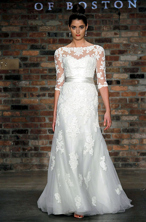 Bridal Gowns Boston : Lovely long sleeved wedding dresses a batty life