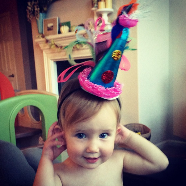 baby birthday hat