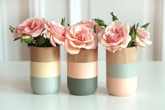 feminine vases