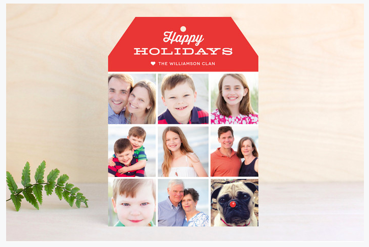 Christmas card Giveaway
