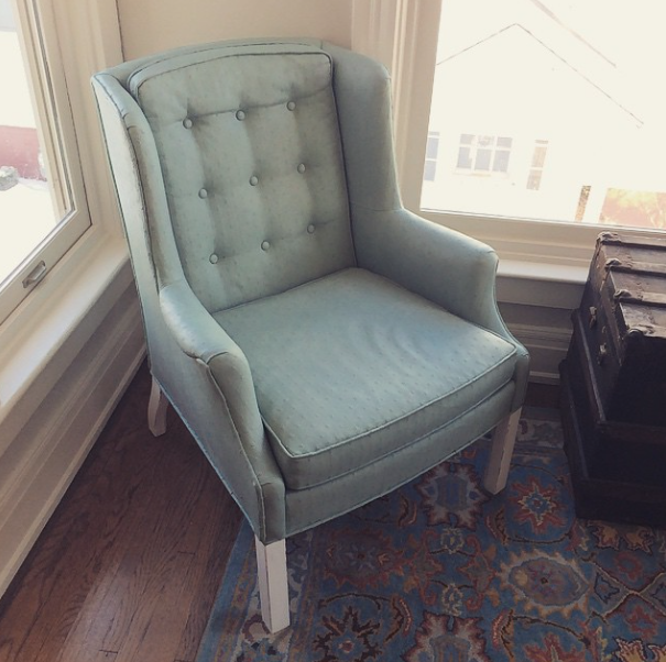 How To Paint Upholstery With Annie Sloan Chalk Paint A